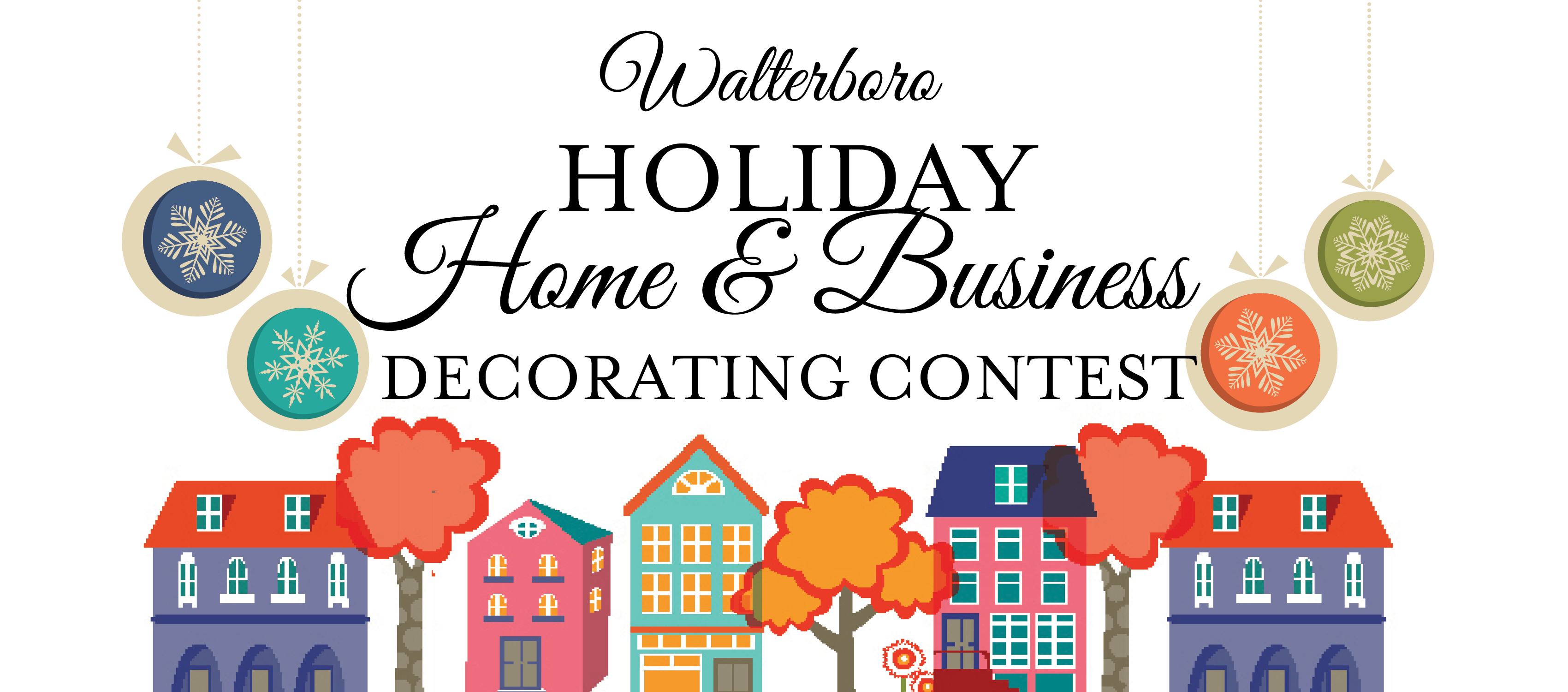 Holiday Home Business Decorating Contest Walterboro Sc