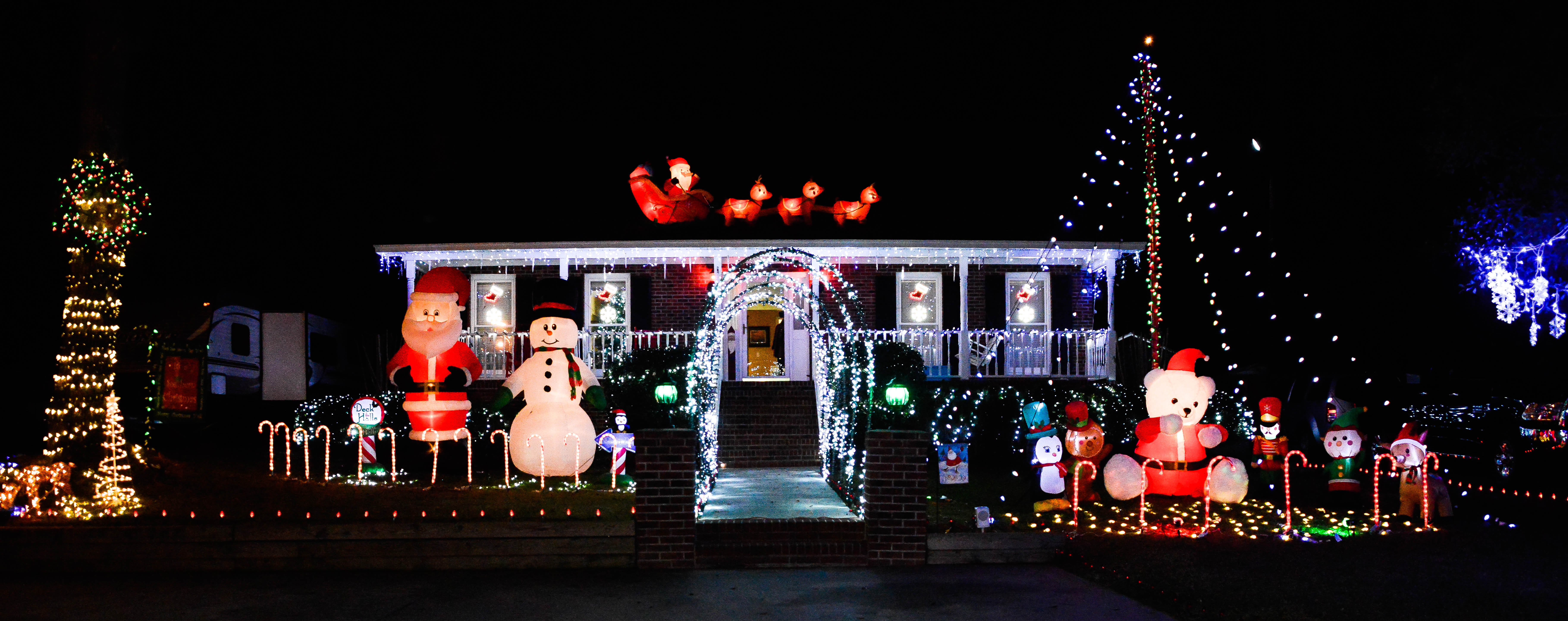 Holiday Home Business Decorating Contest Winners Walterboro Sc